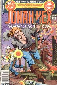 Cover Thumbnail for DC Special Series (DC, 1977 series) #16 - Jonah Hex Spectacular