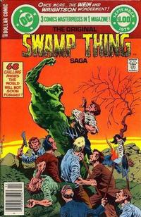 Cover Thumbnail for DC Special Series (DC, 1977 series) #17 - The Original Swamp Thing Saga