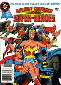 Cover Thumbnail for DC Special Series (DC, 1977 series) #19 - Secret Origins of Super-Heroes