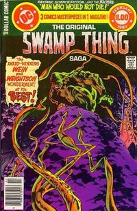 Cover Thumbnail for DC Special Series (DC, 1977 series) #20 - The Original Swamp Thing Saga