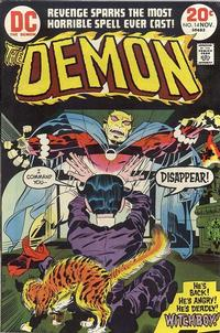 Cover Thumbnail for The Demon (DC, 1972 series) #14