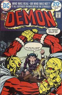 Cover Thumbnail for The Demon (DC, 1972 series) #15