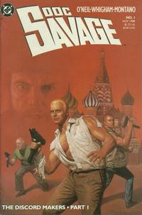 Cover Thumbnail for Doc Savage (DC, 1988 series) #1