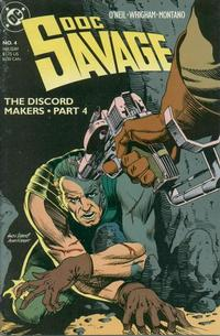 Cover Thumbnail for Doc Savage (DC, 1988 series) #4