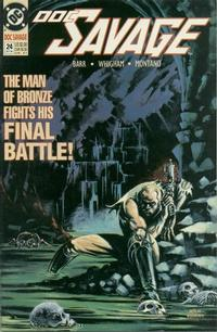 Cover Thumbnail for Doc Savage (DC, 1988 series) #24