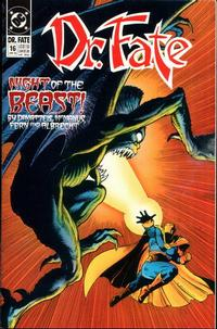 Cover Thumbnail for Doctor Fate (DC, 1988 series) #16