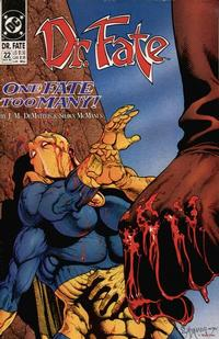 Cover for Doctor Fate (DC, 1988 series) #22