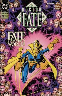 Cover Thumbnail for Doctor Fate (DC, 1988 series) #37
