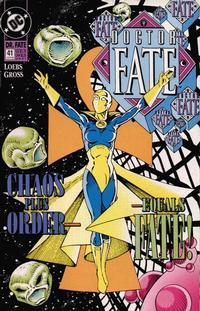 Cover Thumbnail for Doctor Fate (DC, 1988 series) #41