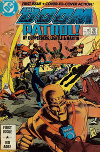 Cover Thumbnail for Doom Patrol (DC, 1987 series) #1 [Direct Edition]