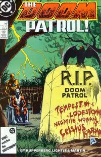 Cover Thumbnail for Doom Patrol (DC, 1987 series) #5 [Direct Edition]