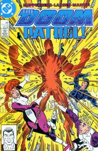 Cover Thumbnail for Doom Patrol (DC, 1987 series) #7 [Direct Edition]
