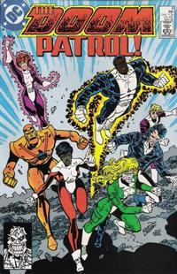 Cover Thumbnail for Doom Patrol (DC, 1987 series) #8 [Direct Edition]