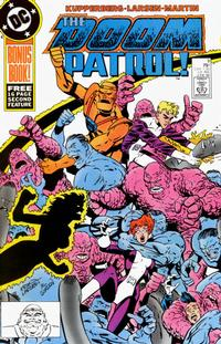 Cover Thumbnail for Doom Patrol (DC, 1987 series) #9 [Direct Edition]