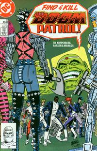 Cover Thumbnail for Doom Patrol (DC, 1987 series) #12 [Direct Edition]