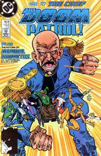 Cover Thumbnail for Doom Patrol (DC, 1987 series) #16 [Direct Edition]