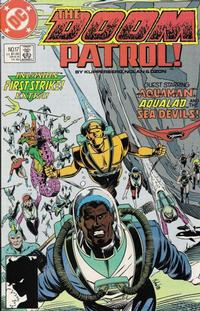 Cover Thumbnail for Doom Patrol (DC, 1987 series) #17 [Direct Edition]