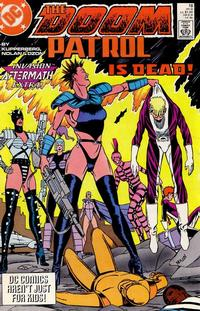 Cover Thumbnail for Doom Patrol (DC, 1987 series) #18 [Direct Edition]