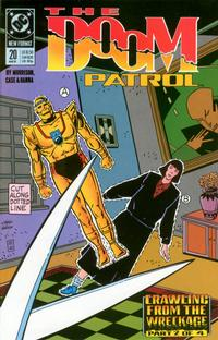 Cover Thumbnail for Doom Patrol (DC, 1987 series) #20