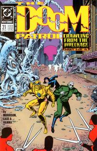 Cover Thumbnail for Doom Patrol (DC, 1987 series) #21