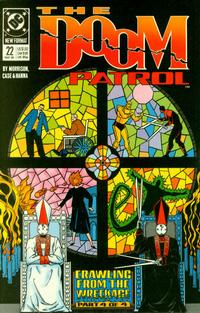 Cover Thumbnail for Doom Patrol (DC, 1987 series) #22