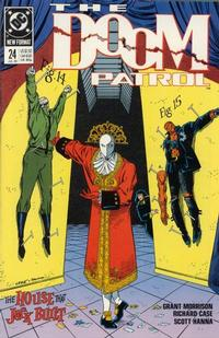 Cover Thumbnail for Doom Patrol (DC, 1987 series) #24