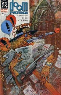 Cover Thumbnail for Doom Patrol (DC, 1987 series) #31