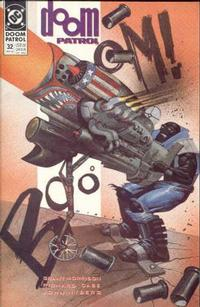 Cover Thumbnail for Doom Patrol (DC, 1987 series) #32