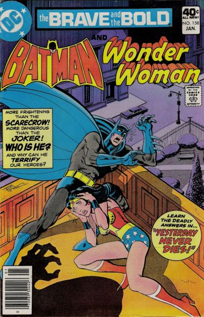Cover for The Brave and the Bold (DC, 1955 series) #158
