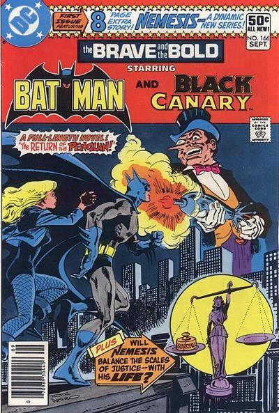 Cover for The Brave and the Bold (DC, 1955 series) #166