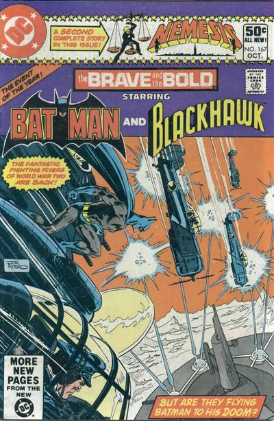 Cover for The Brave and the Bold (DC, 1955 series) #167 [Newsstand]