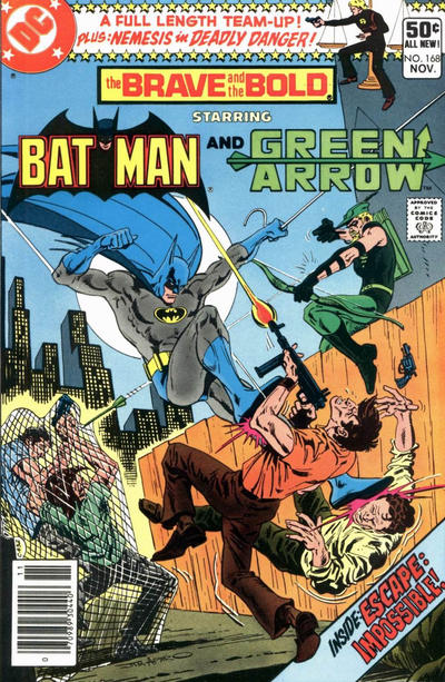 Cover for The Brave and the Bold (DC, 1955 series) #168 [Direct]