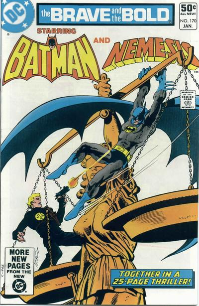 Cover for The Brave and the Bold (DC, 1955 series) #170 [Direct Sales]