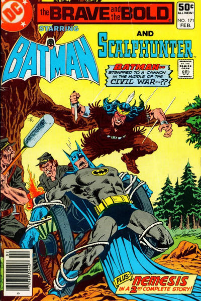 Cover for The Brave and the Bold (DC, 1955 series) #171 [Direct Sales]