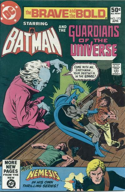 Cover for The Brave and the Bold (DC, 1955 series) #173 [Direct]