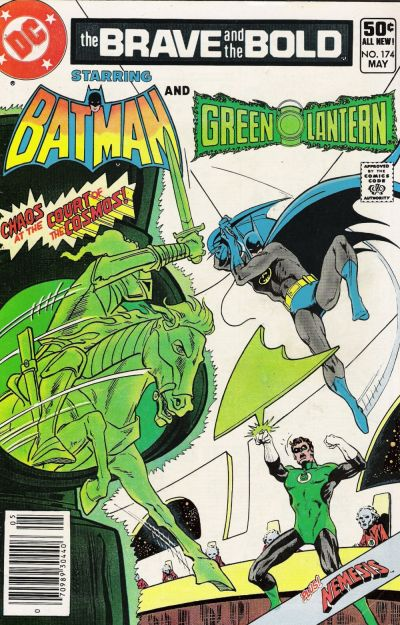 Cover for The Brave and the Bold (DC, 1955 series) #174 [Direct]
