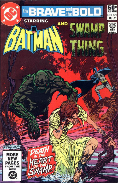 Cover for The Brave and the Bold (DC, 1955 series) #176 [Direct]