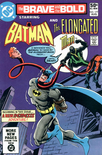 Cover for The Brave and the Bold (DC, 1955 series) #177 [Direct Sales]