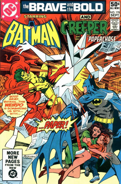 Cover for The Brave and the Bold (DC, 1955 series) #178