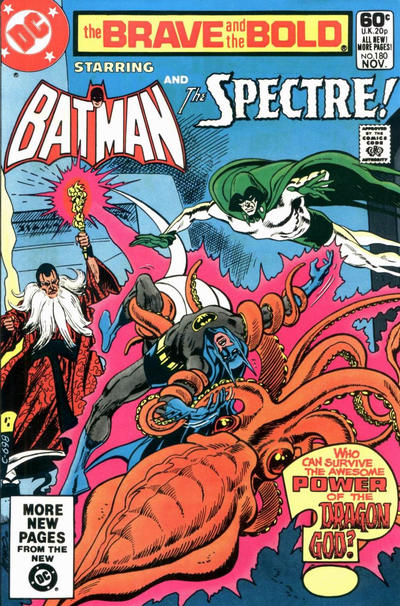 Cover for The Brave and the Bold (DC, 1955 series) #180 [Direct]