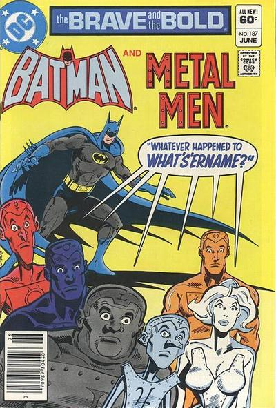 Cover for The Brave and the Bold (DC, 1955 series) #187 [Direct Sales]