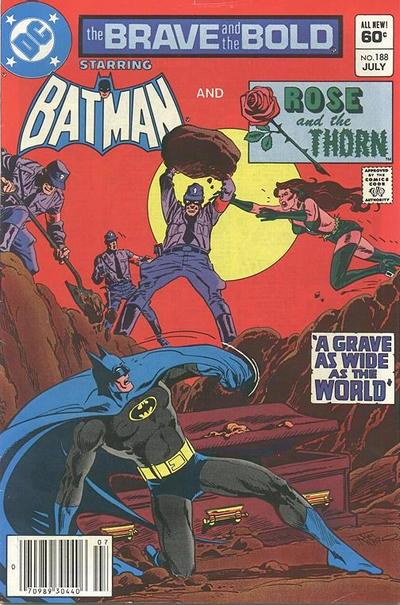 Cover for The Brave and the Bold (DC, 1955 series) #188 [Newsstand Edition]