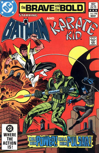 Cover for The Brave and the Bold (DC, 1955 series) #198 [Direct]