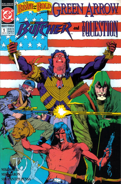 Cover for The Brave and the Bold (DC, 1991 series) #1