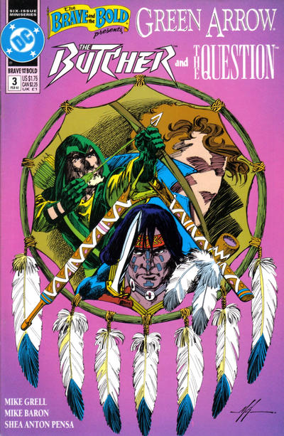 Cover for The Brave and the Bold (DC, 1991 series) #3