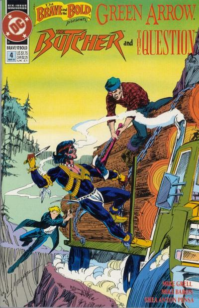 Cover for The Brave and the Bold (DC, 1991 series) #4