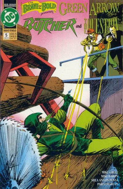 Cover for The Brave and the Bold (DC, 1991 series) #5