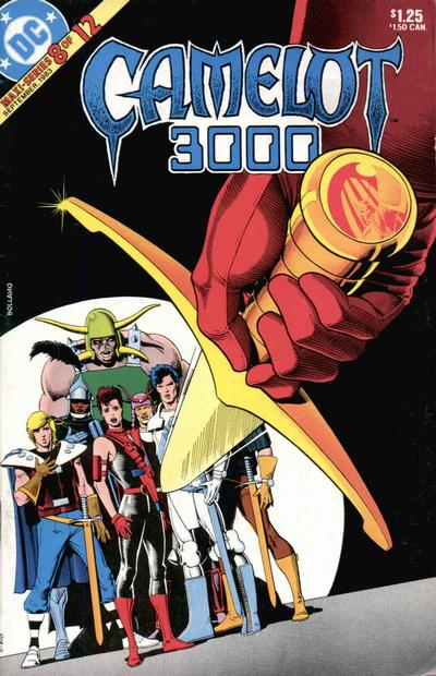 Cover for Camelot 3000 (DC, 1982 series) #8