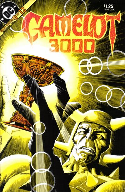 Cover for Camelot 3000 (DC, 1982 series) #9