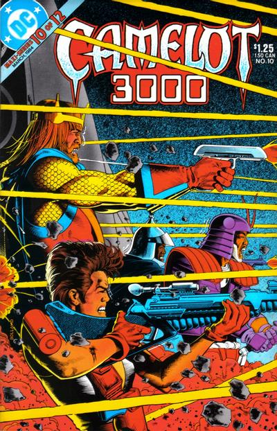 Cover for Camelot 3000 (DC, 1982 series) #10
